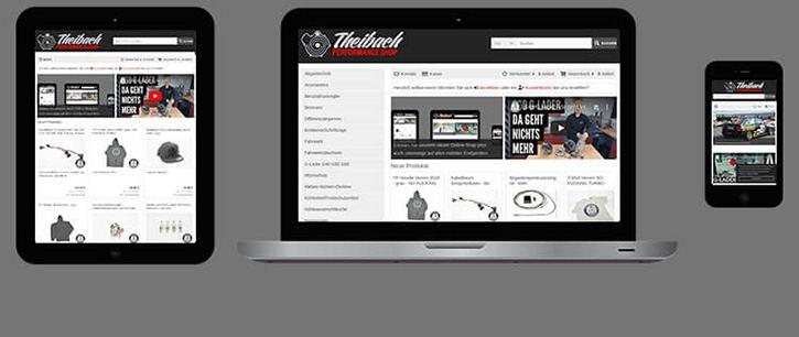 Online-Shop für Mobile Endgeräte