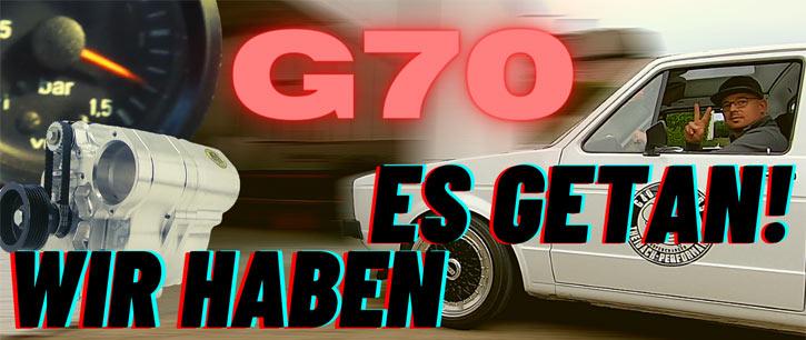 Wir haben es getan! Theibach TP G70 G-Lader