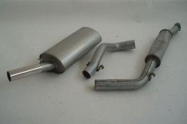 Abgasanlage FMS VW Golf 1 - Gr. A / 63,5mm Stahl