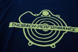 T-Shirt Herren Theibach-Performance in schwarz