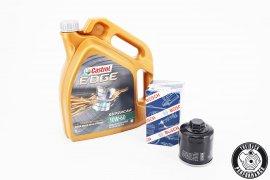 Motoröl Castrol 10W-60 Edge Supercar - 5 Liter + Ölfilter für G40 / G60