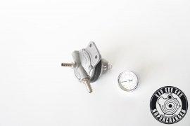 Benzindruckregler / Kraftstoffdruckregler einstellbar mit Manometer