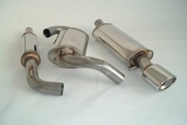 Abgasanlage FMS VW Corrado G60, VR6, 16V, 8V - Gr. A / 63,5mm Edelstahl
