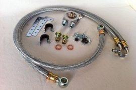 Montage-Kit Ölkühler VW G60, G40 - Stahlflexleitungen