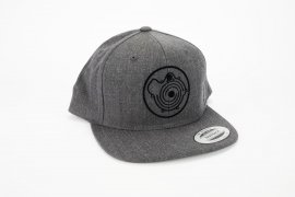 Snapback Cap TP Kollektion 2020 in dunkelgrau mit G-Lader Logo