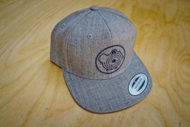 Snapback Cap in grau mit G-Lader Logo
