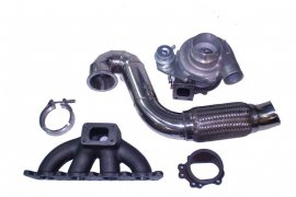 Turbo Umbau Kit 1.8T / Seat Cupra R GT2871R + Downpipe + Krümmer + V-Band bis 400 PS
