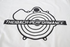 T-Shirt Herren Theibach-Performance in weiß