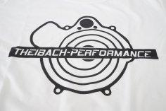T-Shirt Herren Theibach-Performance in weiss