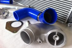 Ladeluftsystem Golf 1 G60 Sprinter - blau