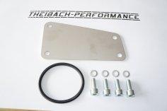 Verschlussplatte / Abdeckung seitlich Motorblock VW G60, 16V 827-Block