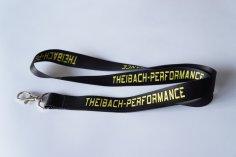 Schlüsselband Theibach-Performance schwarz/gelb