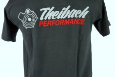 T-Shirt Herren Theibach-Performance / Crew-Shirt 2018 - schwarz