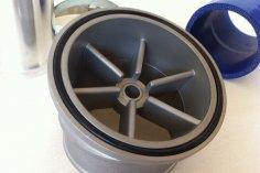 RS Auslass Kit für VW G60 G-Lader - blau