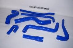 Kühlwasserschläuche VW Golf 1 GTI 1.8 ltr DX - blau
