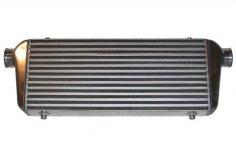 Ladeluftkühler 450 x 300 x 76 mm Alu universal