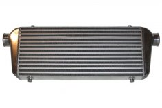 Ladeluftkühler 600 x 450 x 100 mm Alu universal