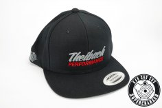 Snapback Cap in schwarz - Theibach-Performance