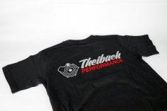 T-Shirt Herren Theibach-Performance / Crew-Shirt - schwarz